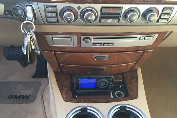 SiriusXM – 2006 BMW 750Li | Radio-Active Car Audio – Garner / Raleigh