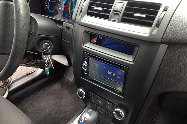 Full Sound System Navigation Ford Fusion Radio