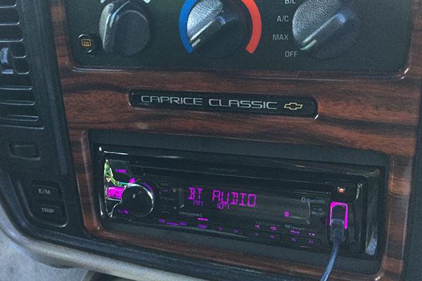 neues schönes Design Release-Info zu Bluetooth Radio – 1996 Chevrolet Caprice | Radio-Active Car ...